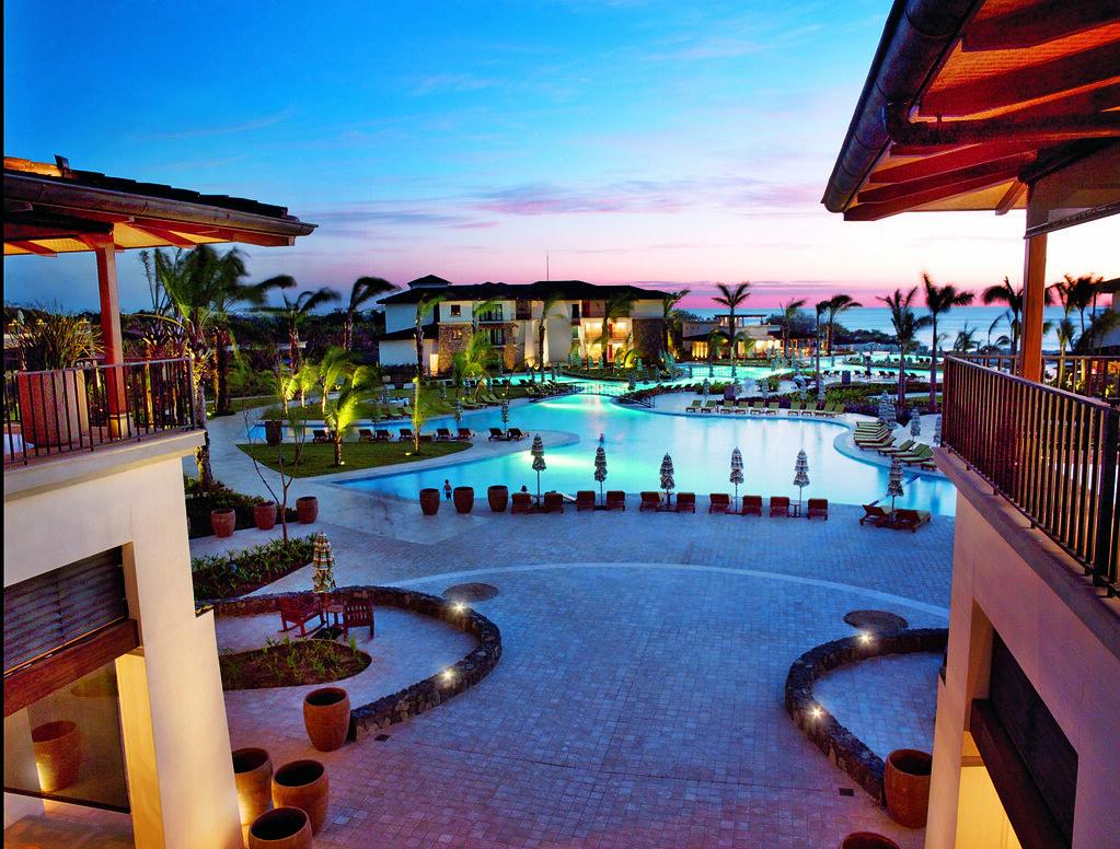 jw marriott guanacaste pool at sunset | the jw marriott guan… | flickr