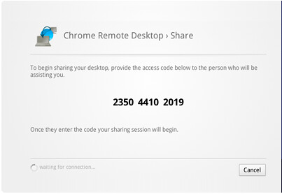 chrome remote desktop beta