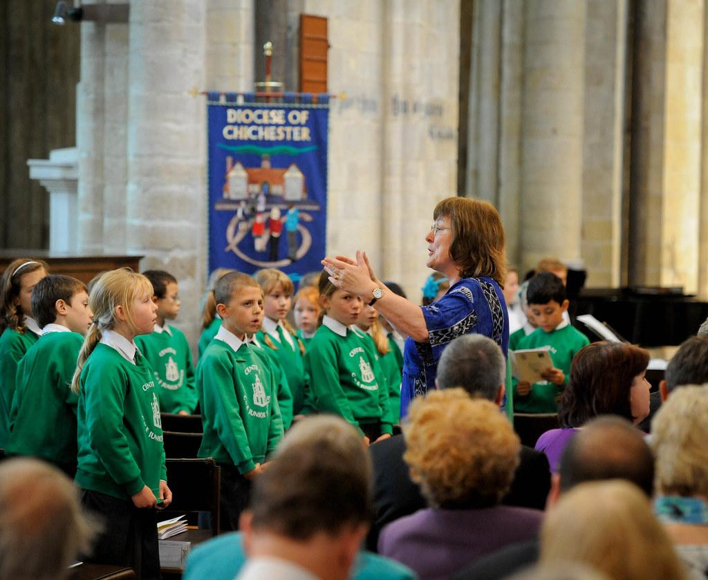 Central Junior School Choir Chichester Sung Eucharist