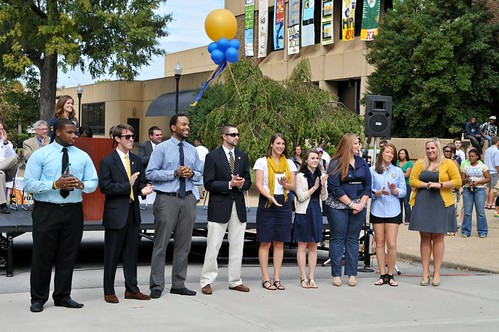 Homecoming 2011 Kick-off Pep Rally | by UT-Chattanooga