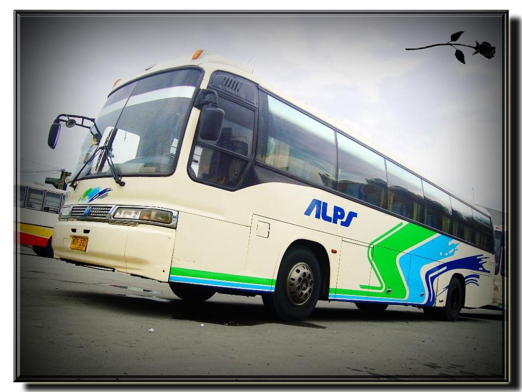 Kia-Grandbird bus: technical specifications