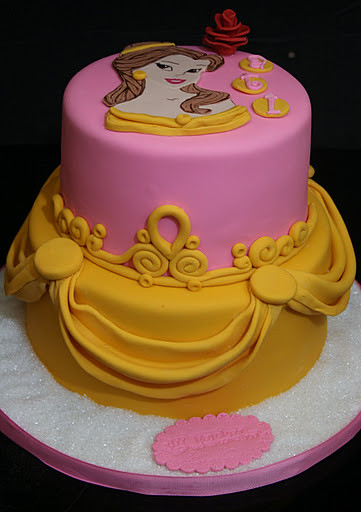 belle birthday cake princess cake this cake was an 8 quot and 6 quot golden 1641