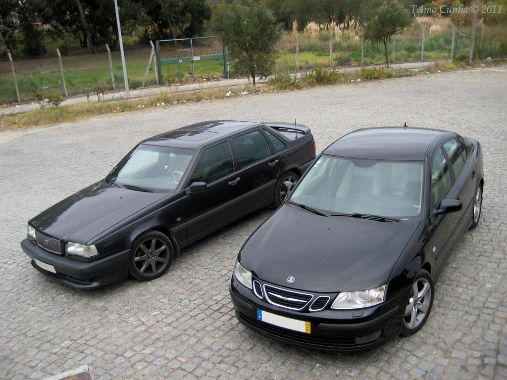 SAAB 93 Vs. Volvo 850 R | SAAB 93 Vs. Volvo 850 R | Flickr