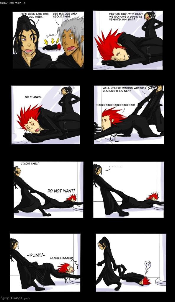 Anime Comic Strip 1