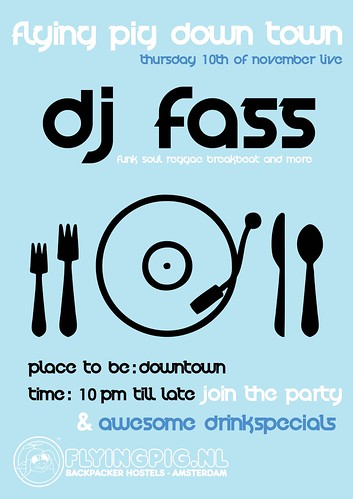 DJ Fass @ Flying Pig Nov 2011 | by DJ Fass