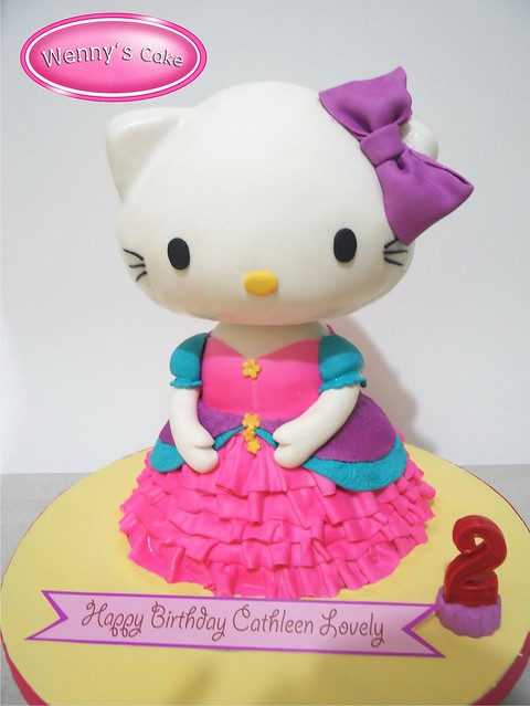 hello kitty 3d Cakes Princess | Flickr - Photo Sharing!