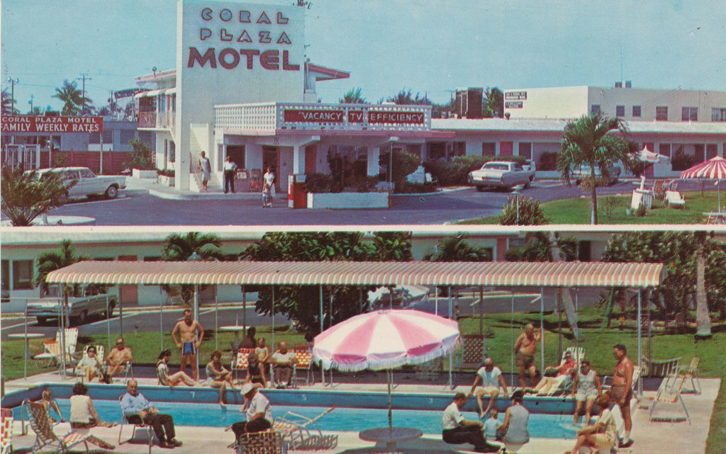 Coral Plaza Motel - Fort Lauderdale, Florida