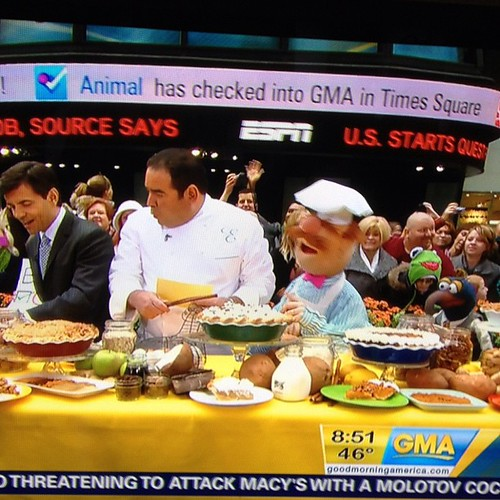 The Muppets checked in to Good Morning America! | by foursquare HQ