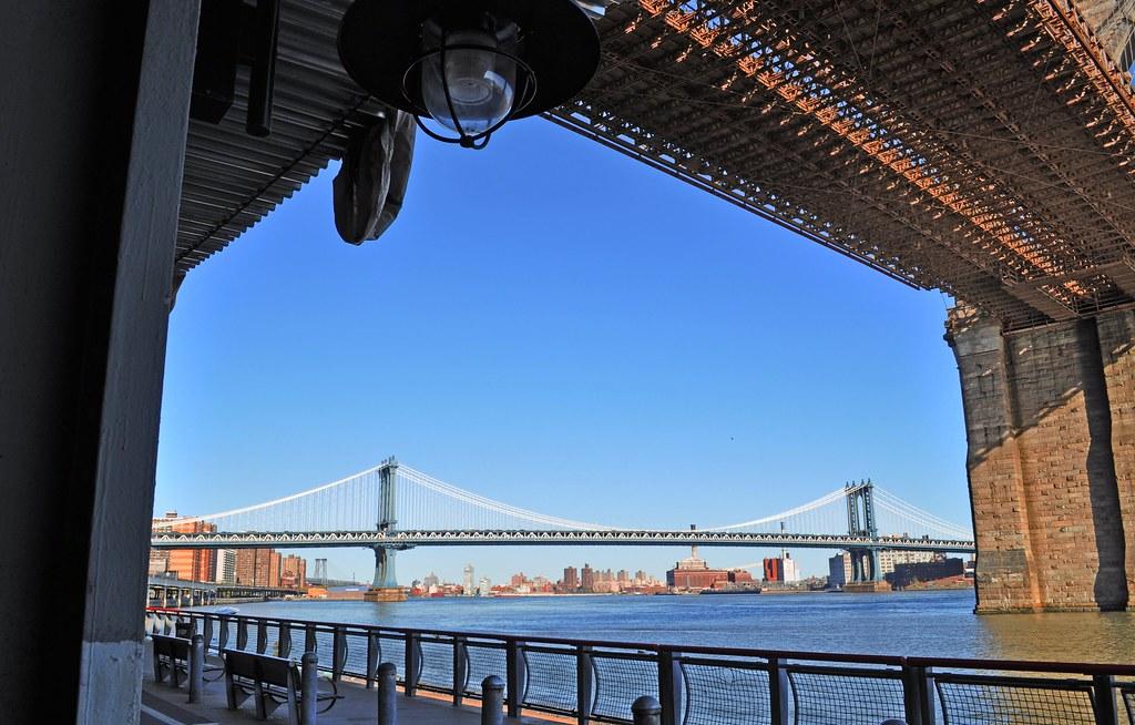 framing manhattan (bridge) with brooklyn (bridge) --------… | Flickr