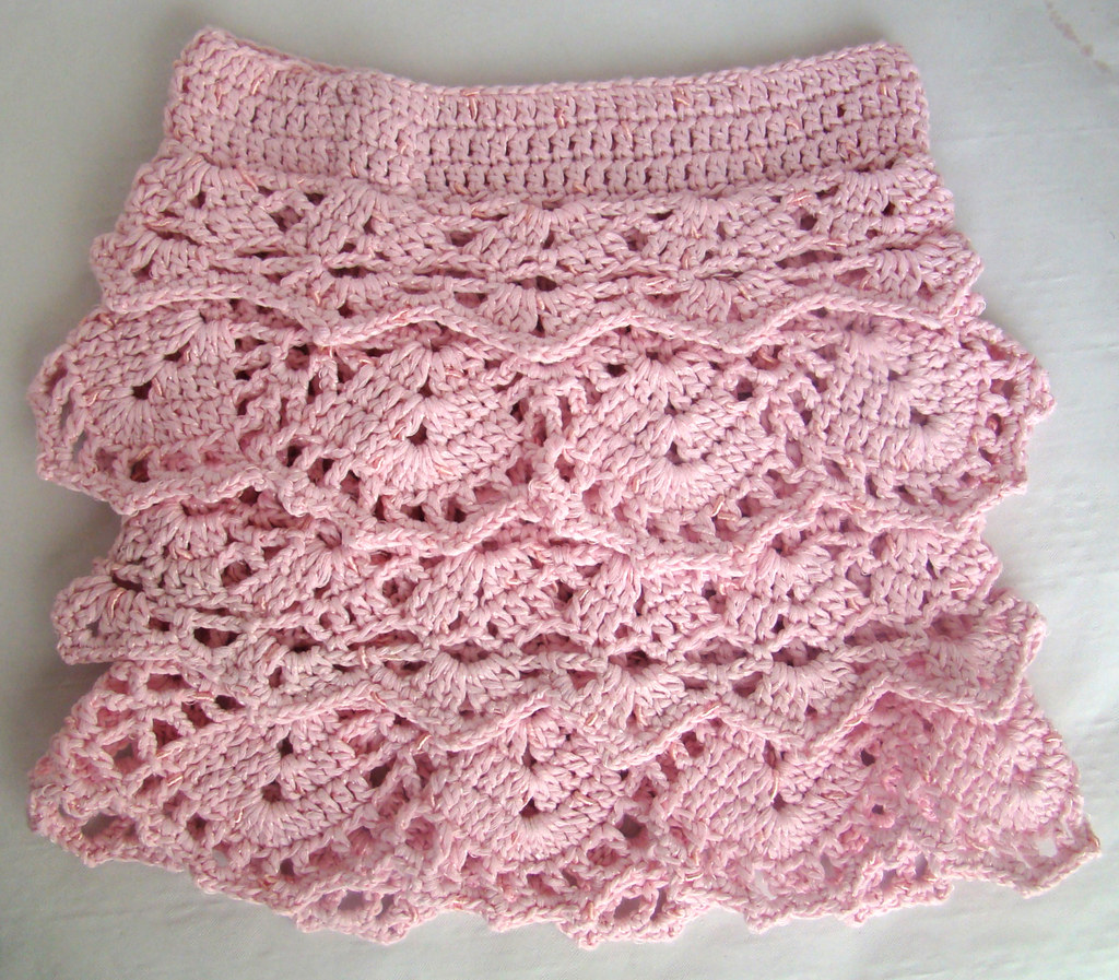 Crochet Ruffle Skirt PATTERN | This gorgeous skirt pattern i… | Flickr
