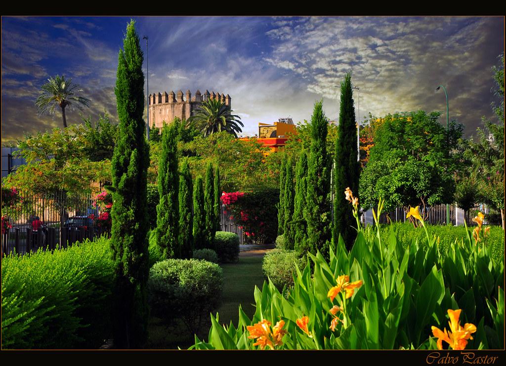 Jardines del parlamento de andaluc a sevilla paco de lucia flickr - Jardines de sevilla ...