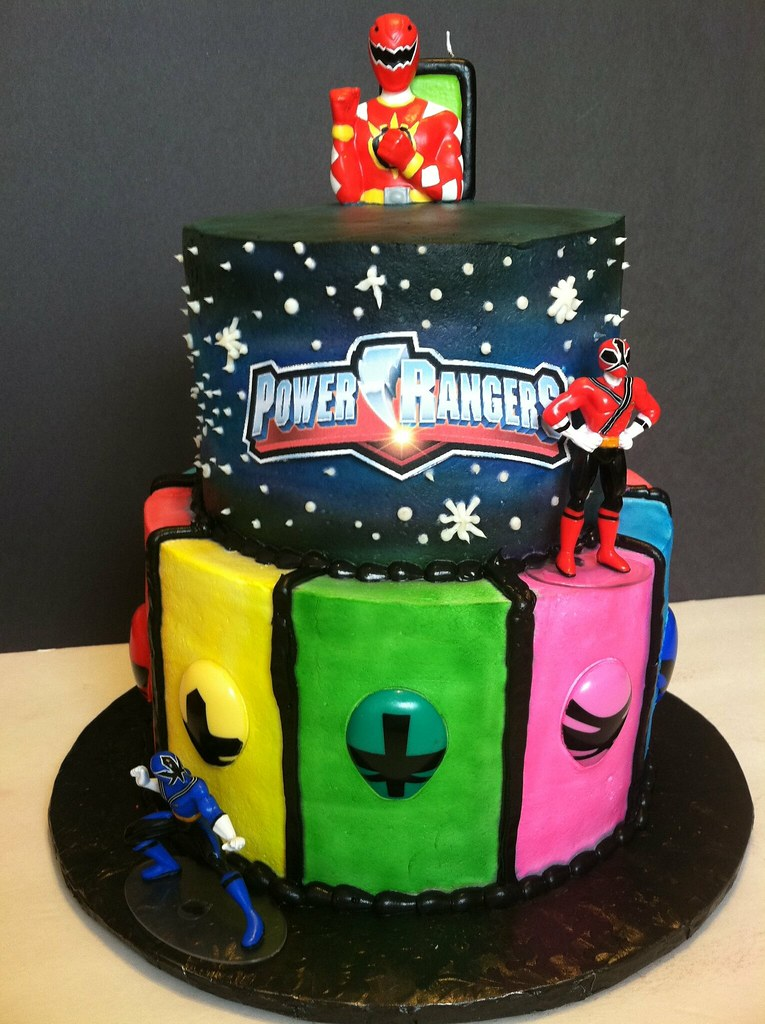 Power Rangers Cake Gaspar Rodriguez Flickr