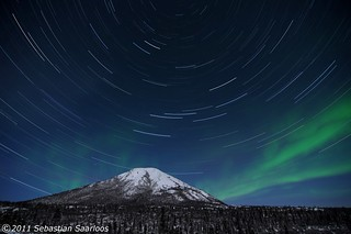 Dome Lights & Trails | by alaskansurveyor