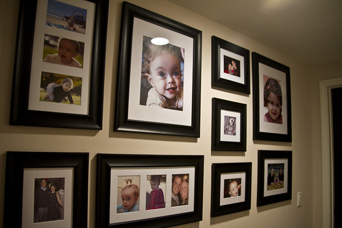 picture wall | by The Spohrs Are Multiplying...