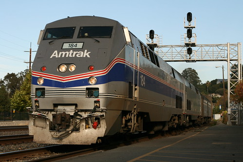 Amtrak California Zephyr at Martinez, CA | by Mike Roqué