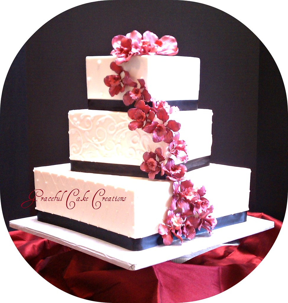 Wedding Red Cake