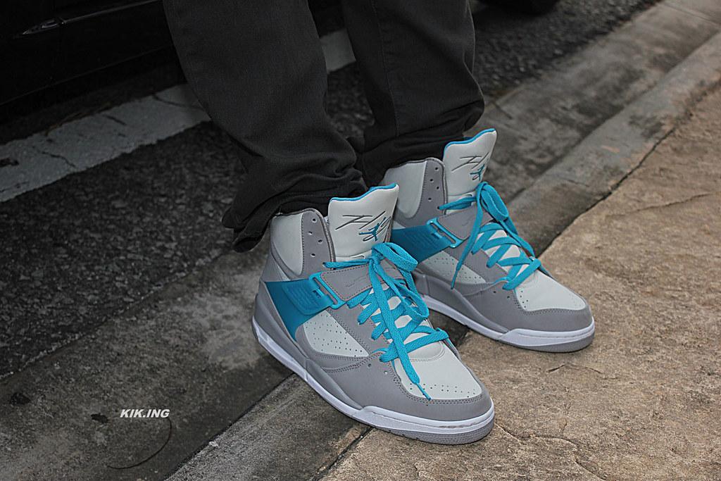 Air Jordan Flight Grey Blue