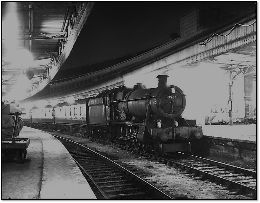 Night Steam At Bristol Temple Meads Hall 7903 Foremarke