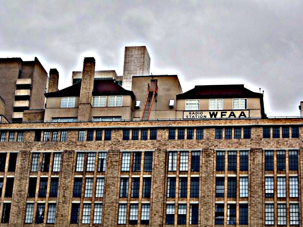 Wfaa Radio Station Building Detail Hdr  Dallas  Texas