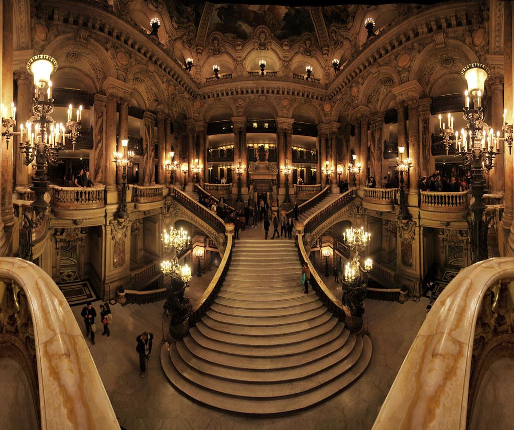 Opera Garnier Paris France 20 Photos Stitched Gaston