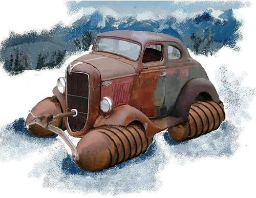 1936/1929 Ford/Fordson Snow Machine COE Coupe | T_Arty ...