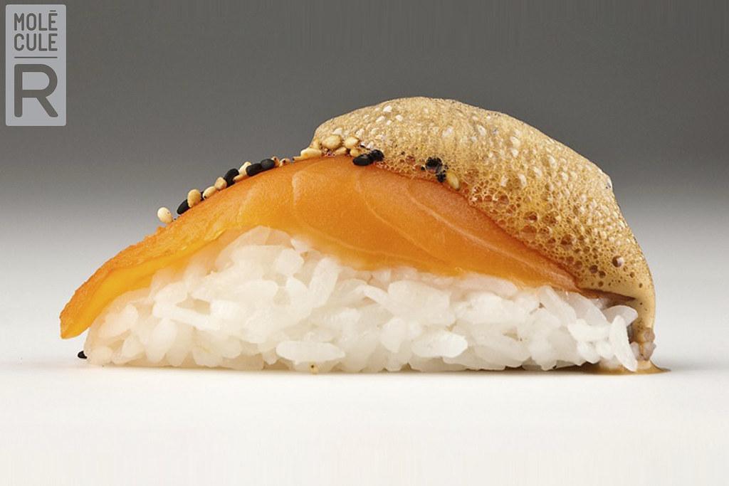 Soy sauce foam | CUISINE R-EVOLUTION: gastronomy kit, to exp… | Flickr