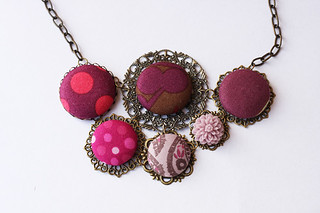 button flower necklace | by Katarina Roccella