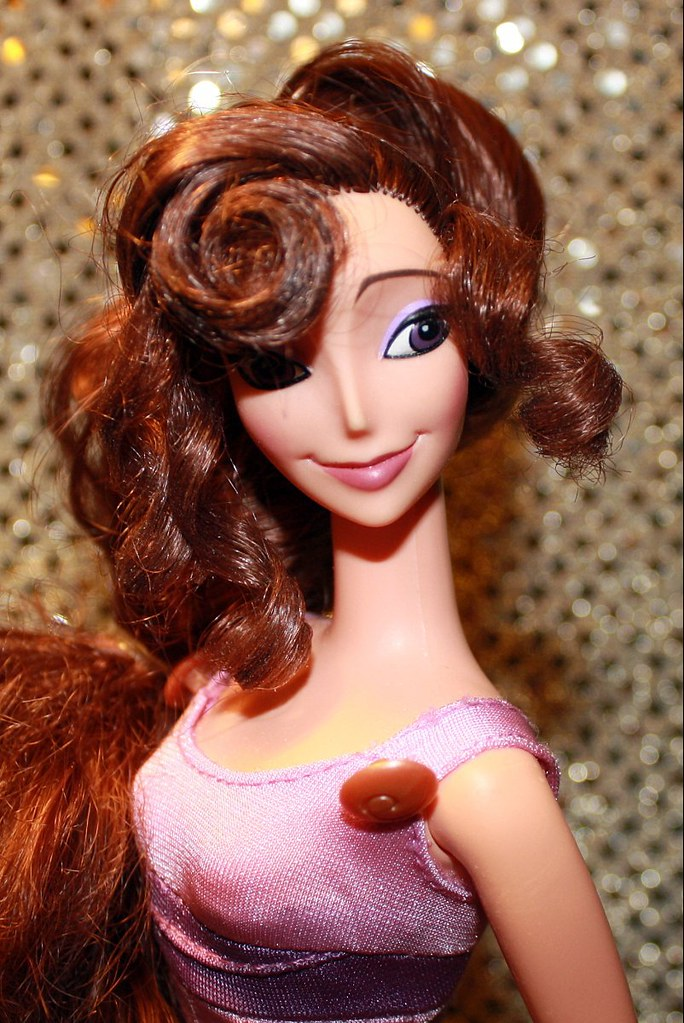 Megara Doll Disney Megara Doll From The Movie Hercules Fa Flickr