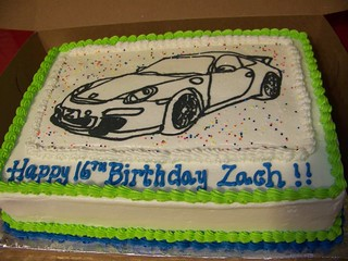 Zach's birthday cake | by Cakes & Cookies on the Lane (Kathy Kmonk)
