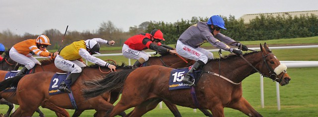 Brae Hill Winning The Lincoln at Doncaster