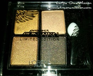 Project Runway Eyeshadow Quad | by Latina On a Mission