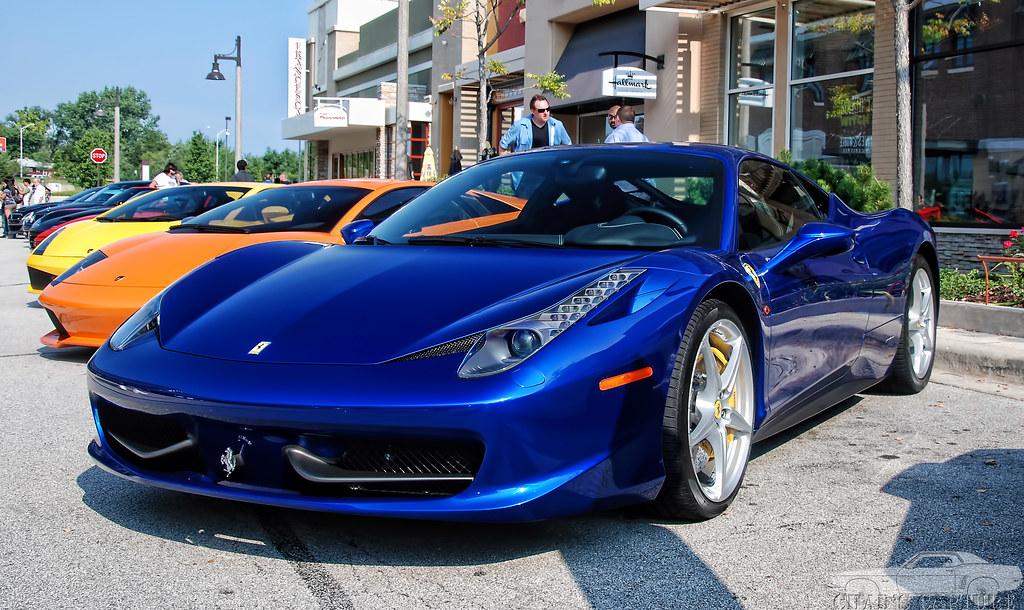Ferrari 458 Chad Horwedel Flickr