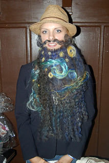 2011 Whiskerinas 1st National Ladies Fake Beard & Mustache Competition | by rhymeswithsausage