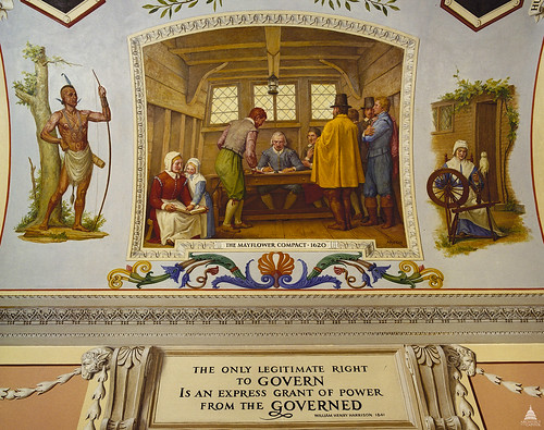 The Mayflower Compact, 1620 | by USCapitol