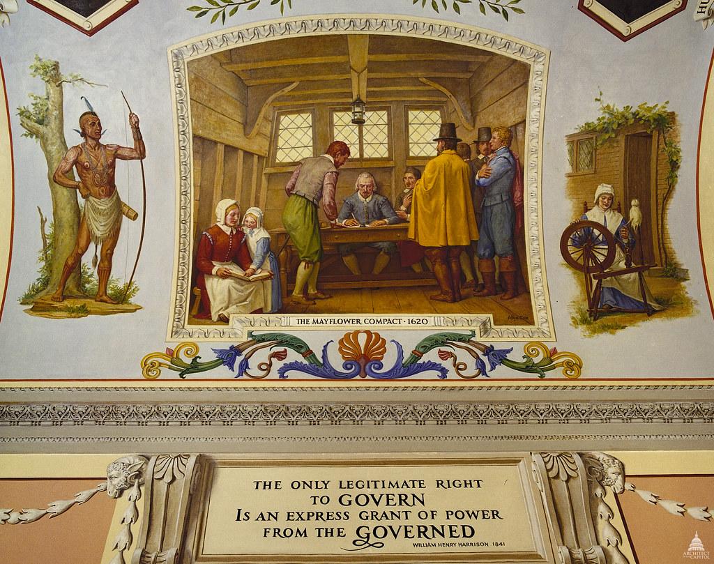 mayflower compact us history