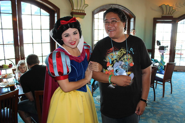 Meeting Snow White | Taken on October 12, 2011 at the ...