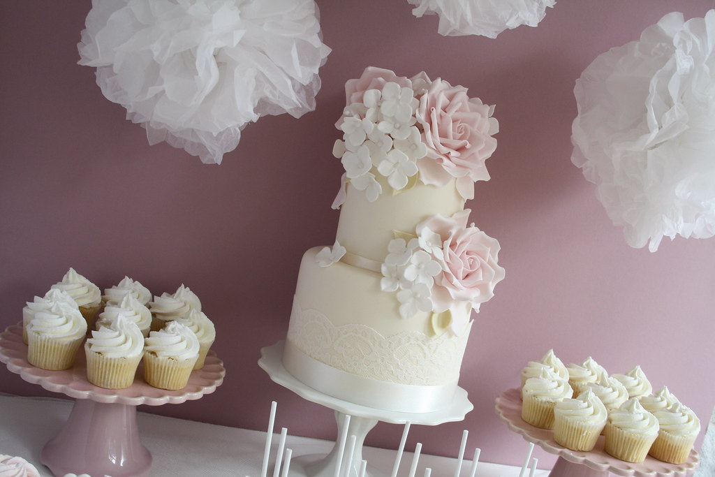 Mini Wedding Cake Sizes Quot 4 Amp 6 Quot Tracy James Flickr