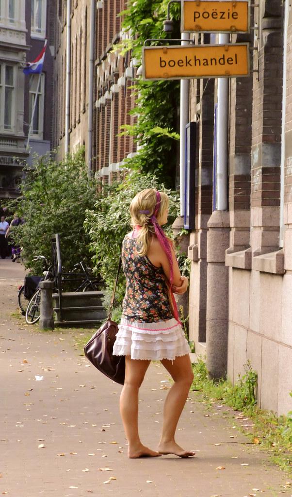 gay Amsterdam bare foot