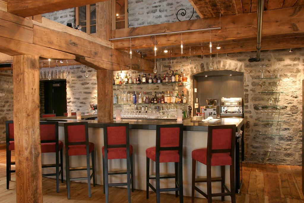 Restaurant panache du vieux qu bec auberge saint antoine for Auberge du jardin antoine