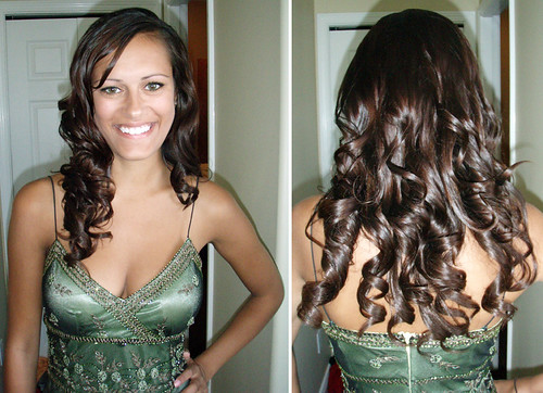 long-formal-hairstyle-with-clip-in-extensions | by vanmobilehair