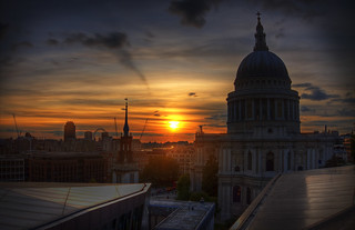 London - Sunset over St Paul's Cathedral | by bobaliciouslondon