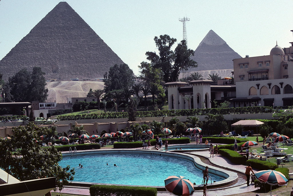 View From Our Room At Mena House Oberoi Giza We Flew