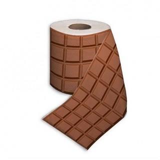 papier toilette fantaisie motif chocolat popfraise flickr. Black Bedroom Furniture Sets. Home Design Ideas