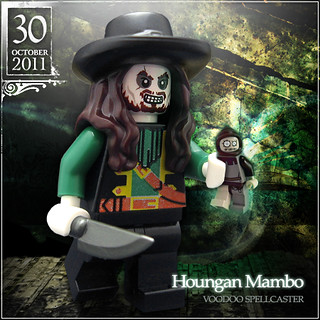 October 30 - Houngan Mambo, Voodoo Spellcaster | by Morgan190