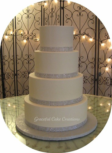 Elegant Wedding Cakes Silver