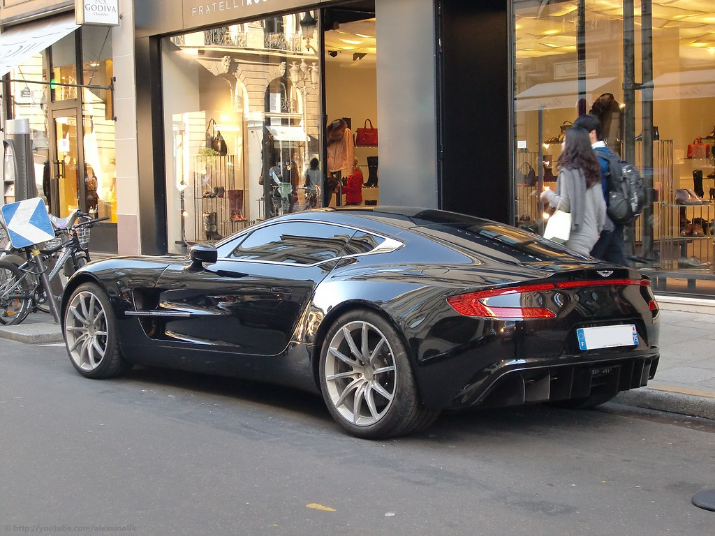 aston martin one 77 aston martin one 77 spotted in paris flickr. Black Bedroom Furniture Sets. Home Design Ideas
