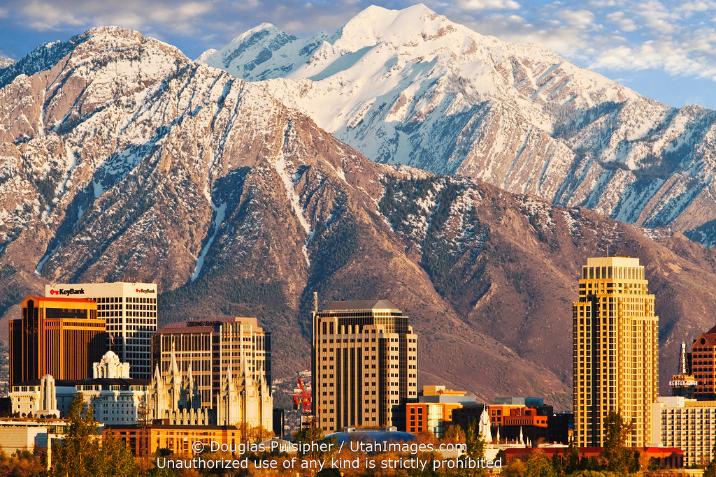 Salt Lake City Skyline