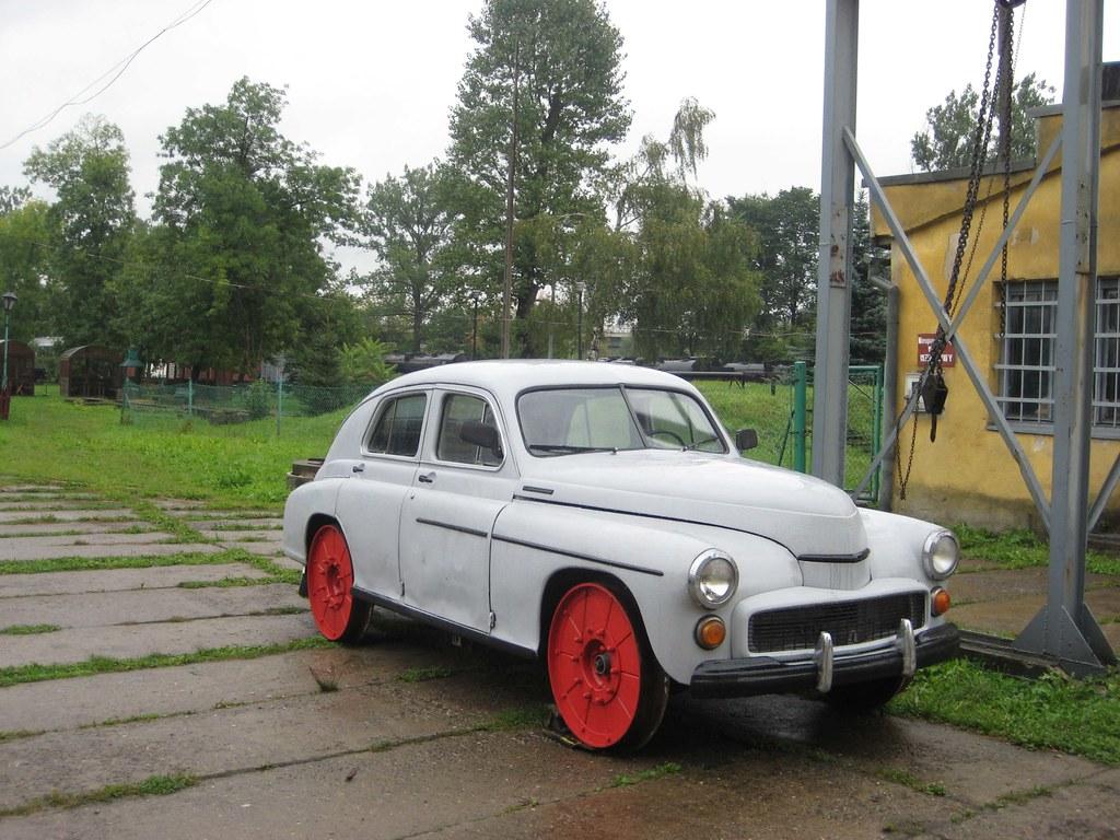 Fso Warszawa Car Adapted For Rail Use Chabowka 20 09 08