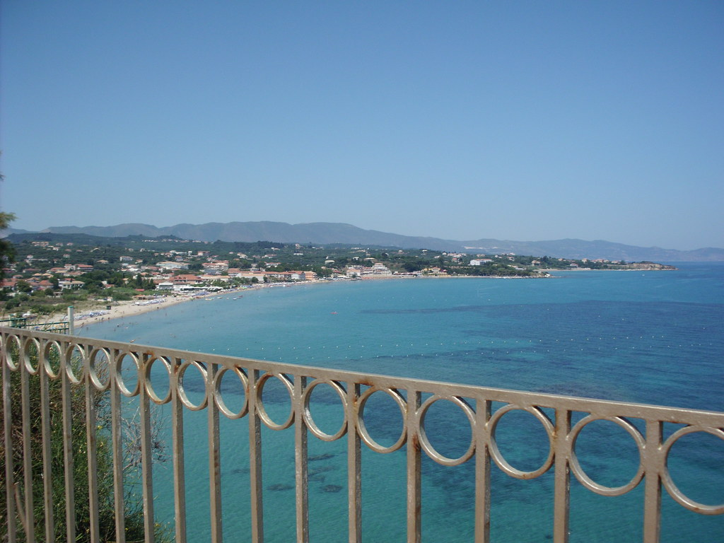 View of tsilivi zante from balcony hotel the view of for The balcony zante