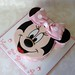 Minnie Mouse Cake for Amber